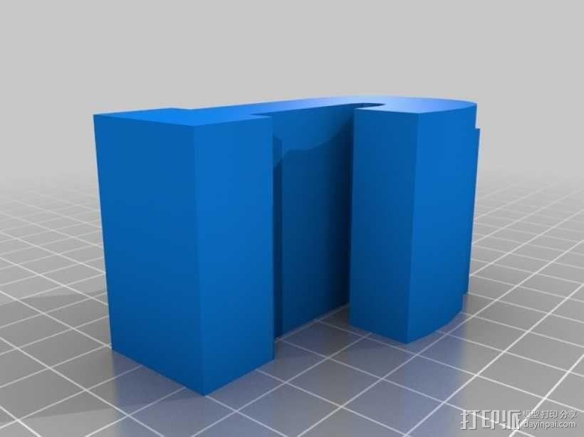 迷你火车桥支撑系统 3D模型  图15