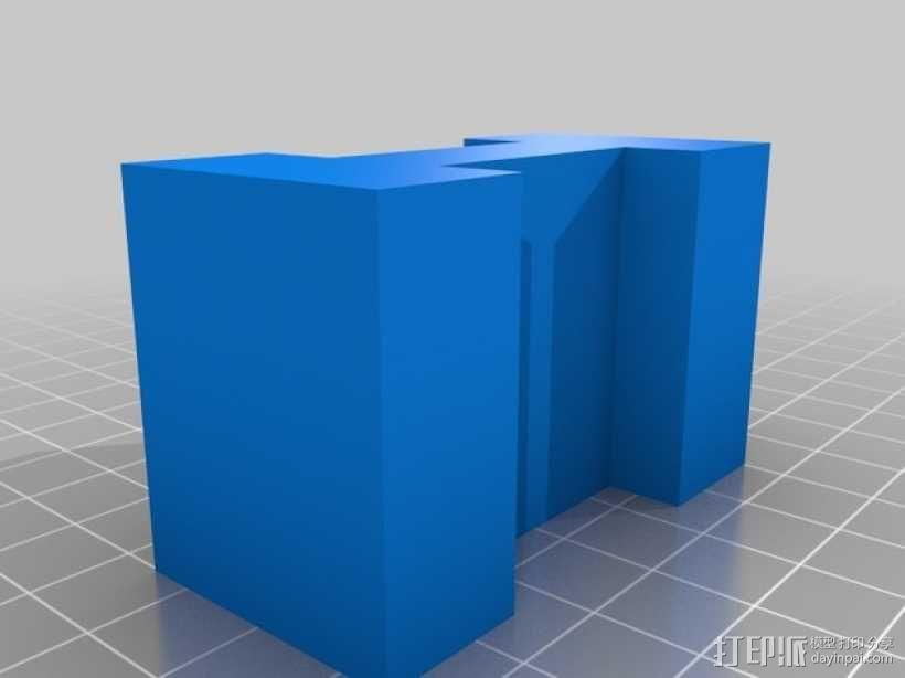 迷你火车桥支撑系统 3D模型  图16