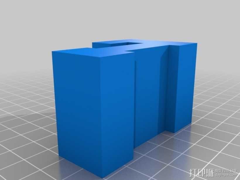 迷你火车桥支撑系统 3D模型  图18