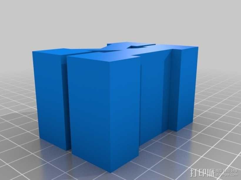 迷你火车桥支撑系统 3D模型  图17