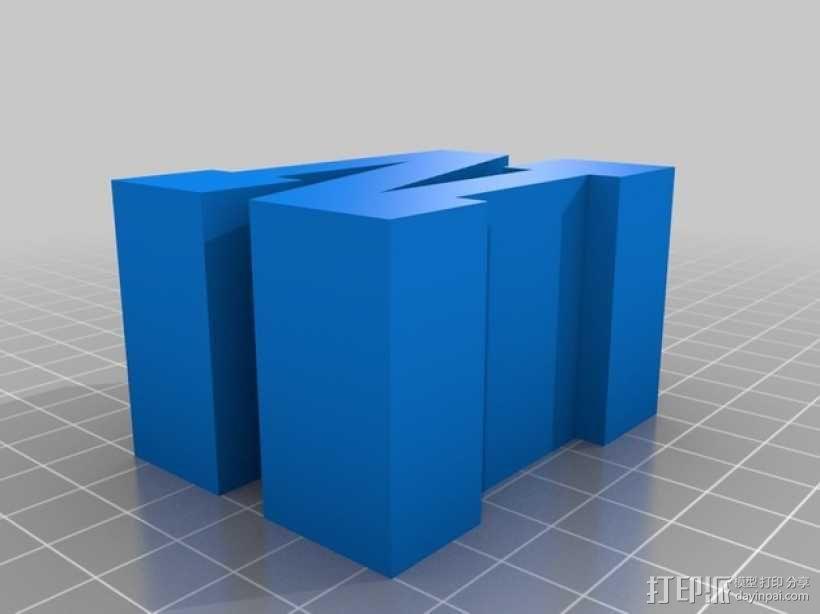 迷你火车桥支撑系统 3D模型  图20