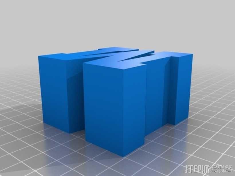 迷你火车桥支撑系统 3D模型  图19
