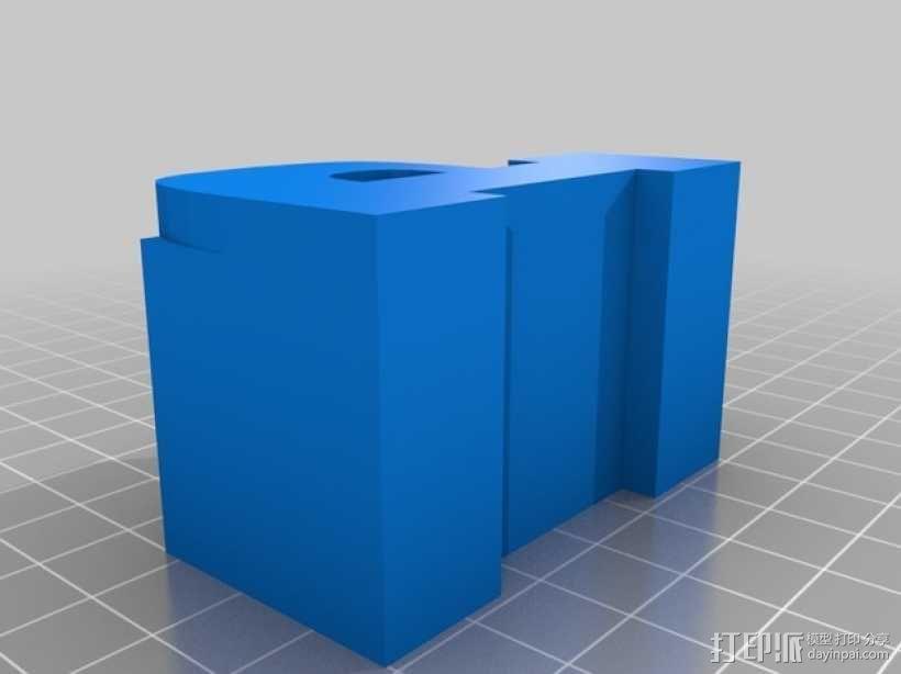 迷你火车桥支撑系统 3D模型  图22