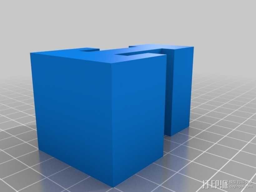 迷你火车桥支撑系统 3D模型  图24
