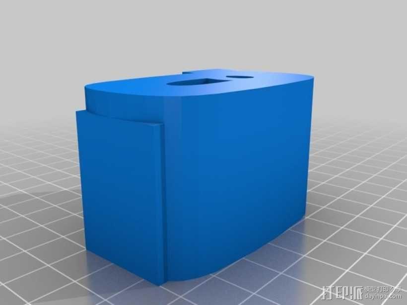 迷你火车桥支撑系统 3D模型  图23
