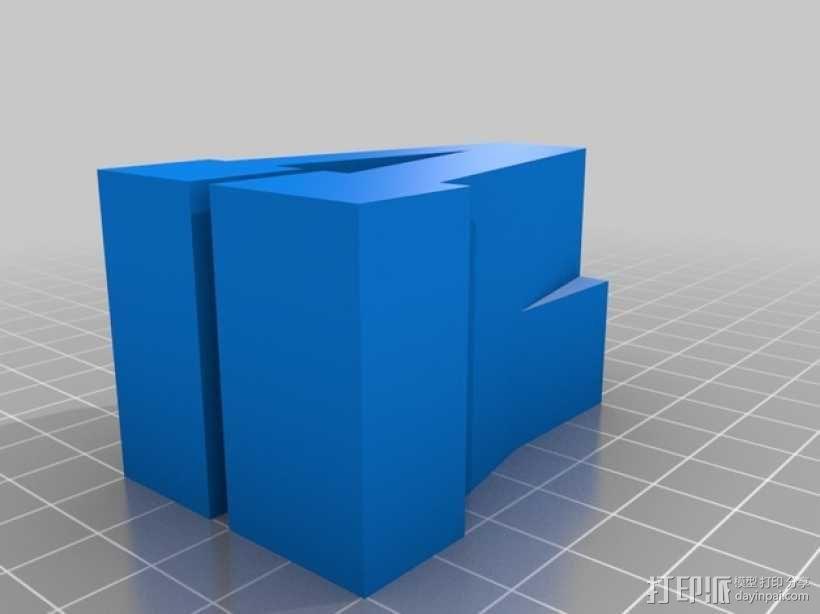 迷你火车桥支撑系统 3D模型  图25