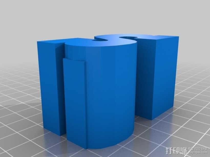 迷你火车桥支撑系统 3D模型  图27