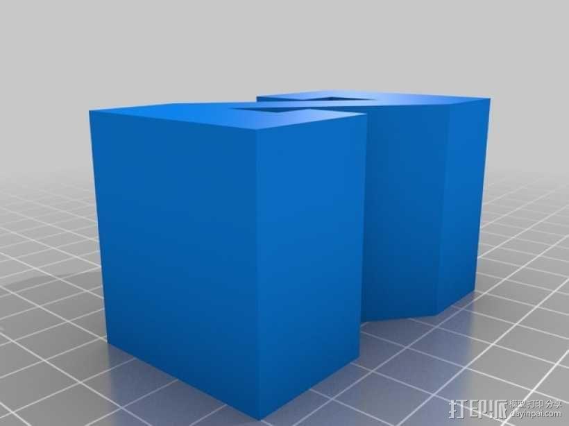 迷你火车桥支撑系统 3D模型  图26