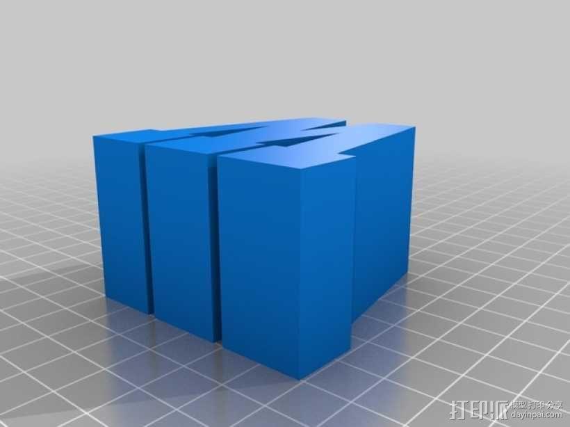 迷你火车桥支撑系统 3D模型  图28