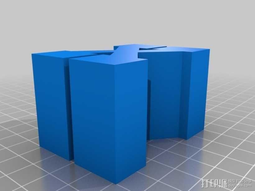 迷你火车桥支撑系统 3D模型  图29