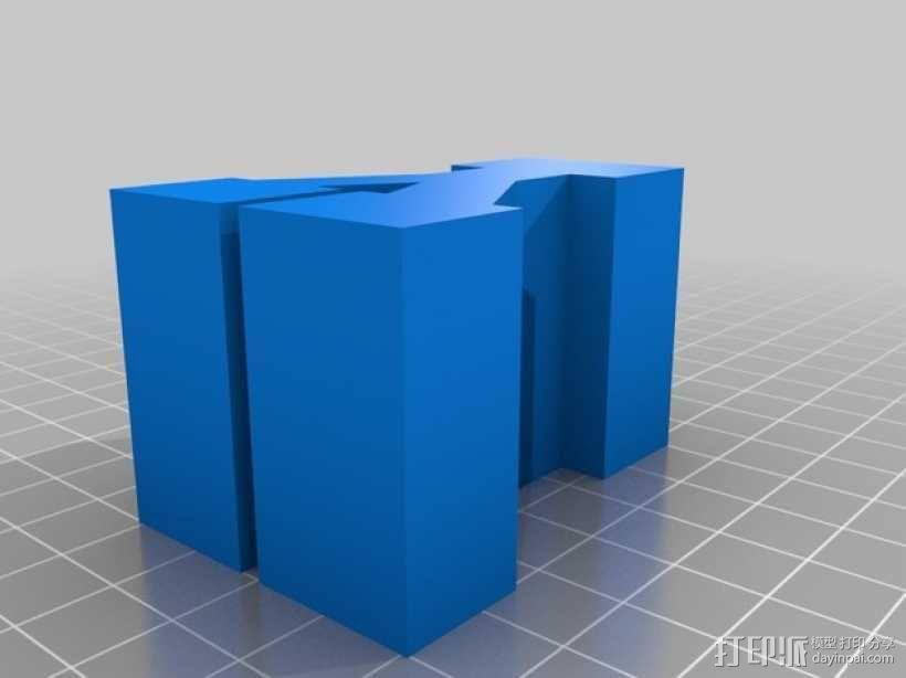 迷你火车桥支撑系统 3D模型  图30