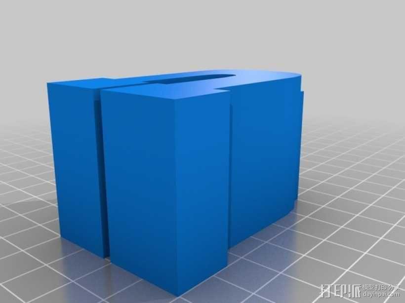 迷你火车桥支撑系统 3D模型  图32
