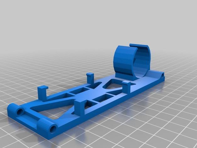 迷你太阳能车盘底座模型 3D模型  图2