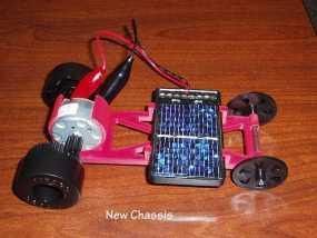 迷你太阳能车盘底座模型 3D模型