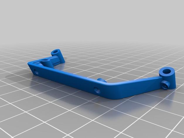 遥控直升机起落橇 3D模型  图1