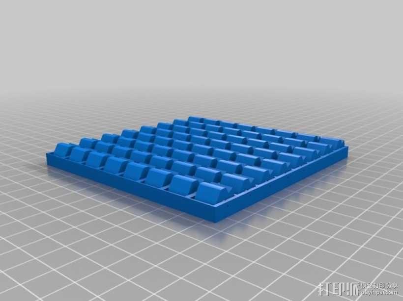 低分辨率显示板模型 3D模型  图2
