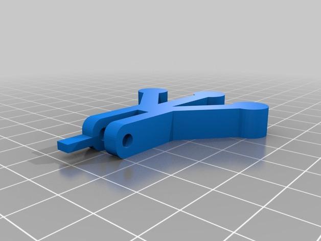 会游泳的机械蛙 3D模型  图6