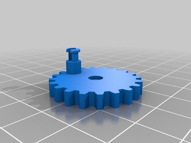 会游泳的机械蛙 3D模型  图12