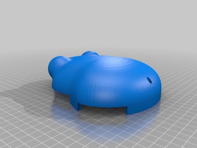 会游泳的机械蛙 3D模型  图15