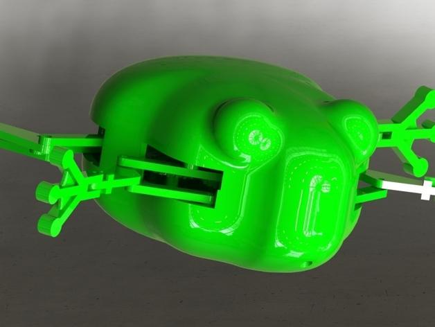 会游泳的机械蛙 3D模型  图19