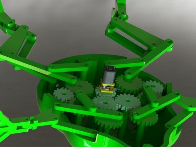 会游泳的机械蛙 3D模型  图20