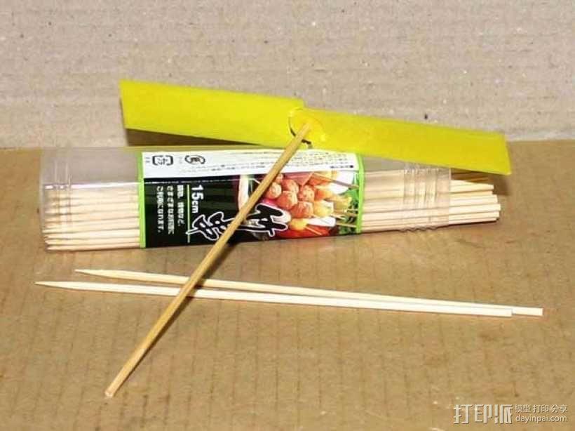 迷你竹蜻蜓 3D模型  图3