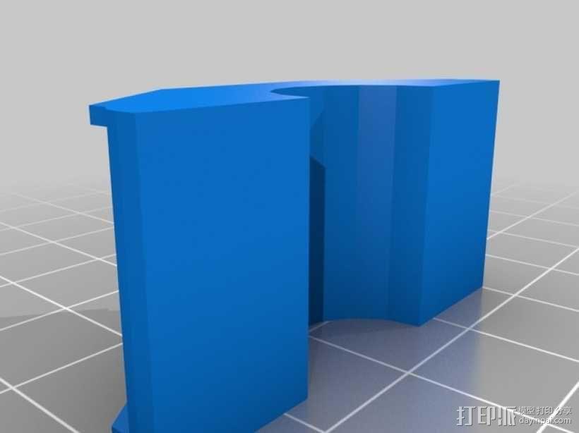 迷你桥 3D模型  图1