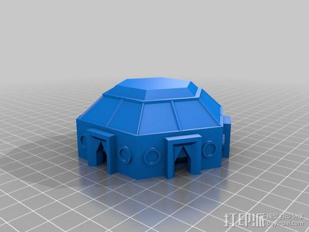 迷你火星基地模型 3D模型  图4