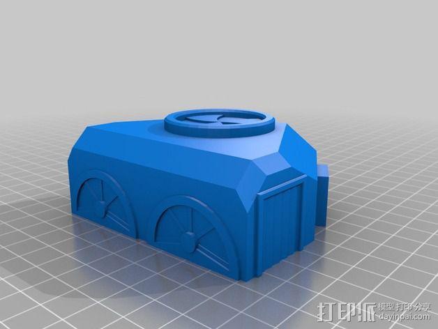 迷你火星基地模型 3D模型  图6