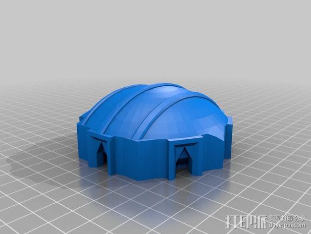 迷你火星基地模型 3D模型  图5