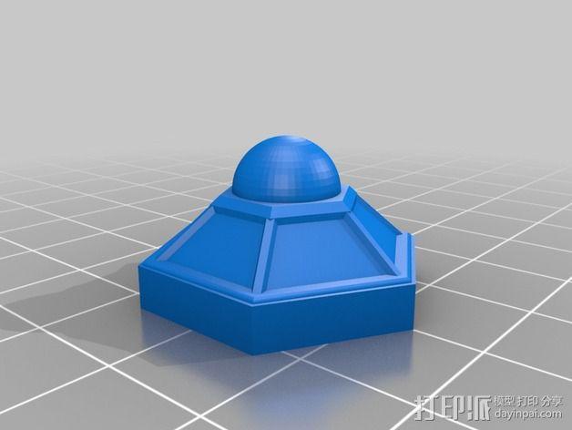 迷你火星基地模型 3D模型  图16