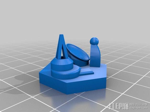迷你火星基地模型 3D模型  图19