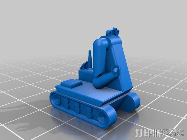 迷你火星基地模型 3D模型  图22