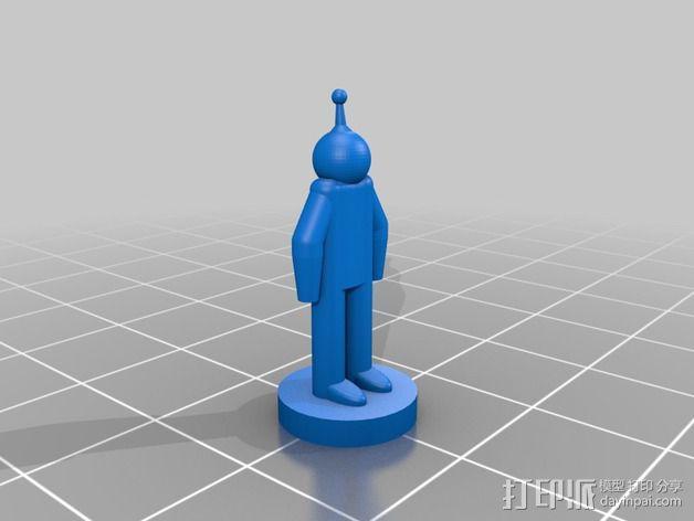 迷你火星基地模型 3D模型  图24