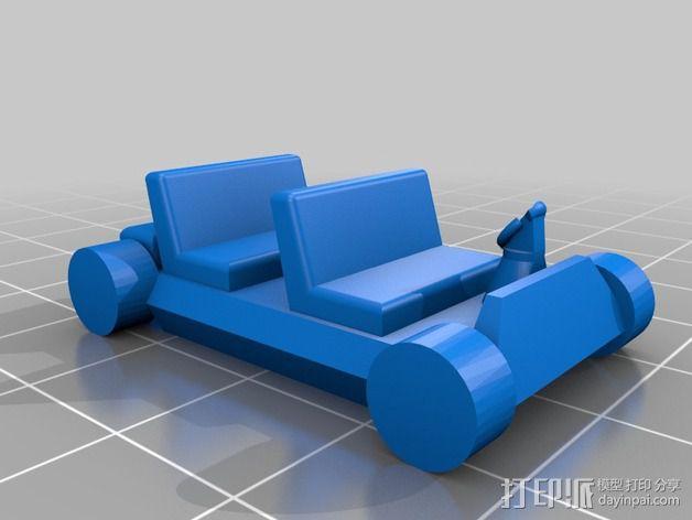 迷你火星基地模型 3D模型  图25