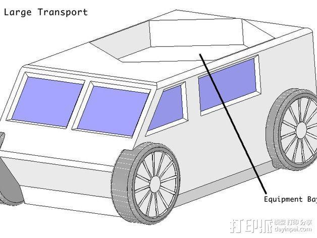 迷你火星基地模型 3D模型  图29