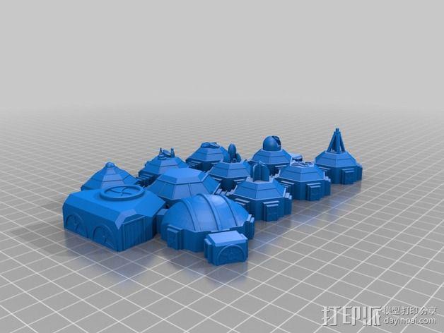 迷你火星基地模型 3D模型  图41