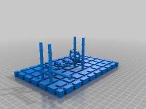 LairdWarp过山车模型 3D模型