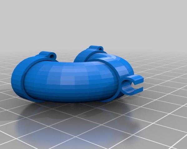 LairdWarp过山车模型 3D模型  图2