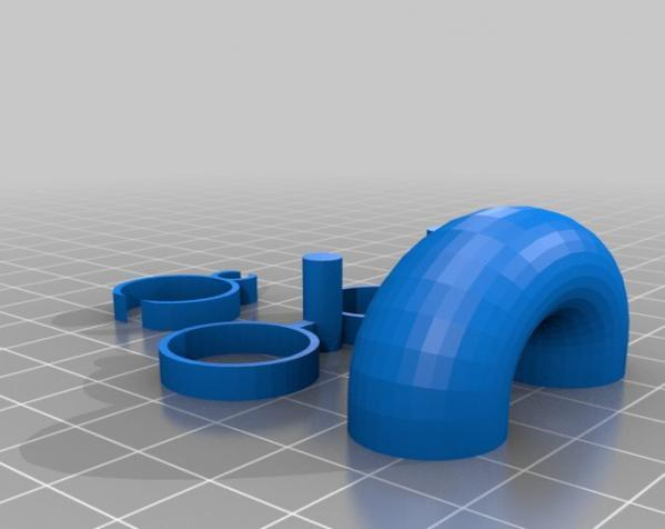 LairdWarp过山车模型 3D模型  图13