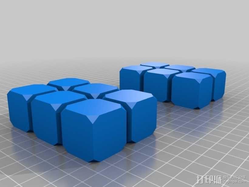 钕磁体立方体 3D模型  图2