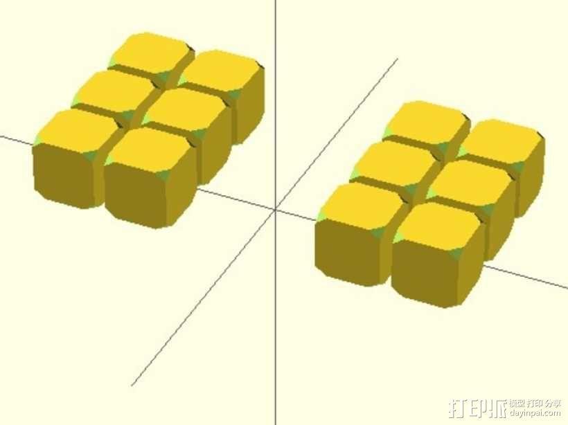 钕磁体立方体 3D模型  图3