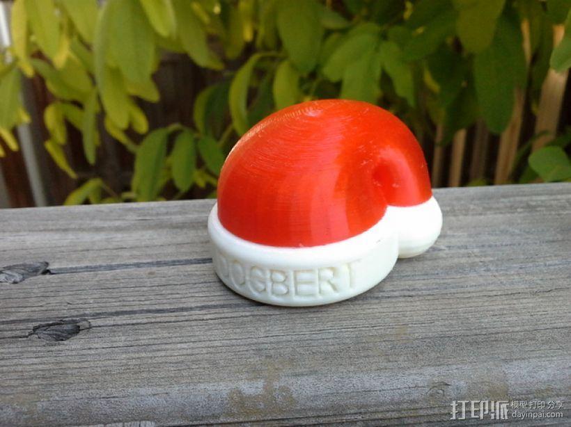 乐高迷你圣诞帽 3D模型  图2