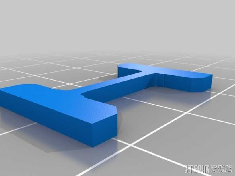 罗马数字骰子 3D模型  图4