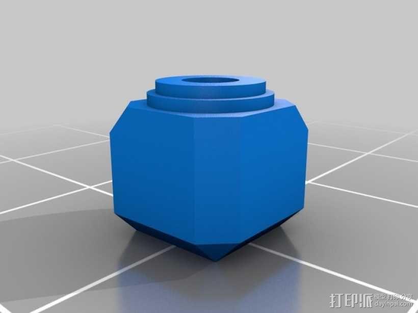 罗马数字骰子 3D模型  图3