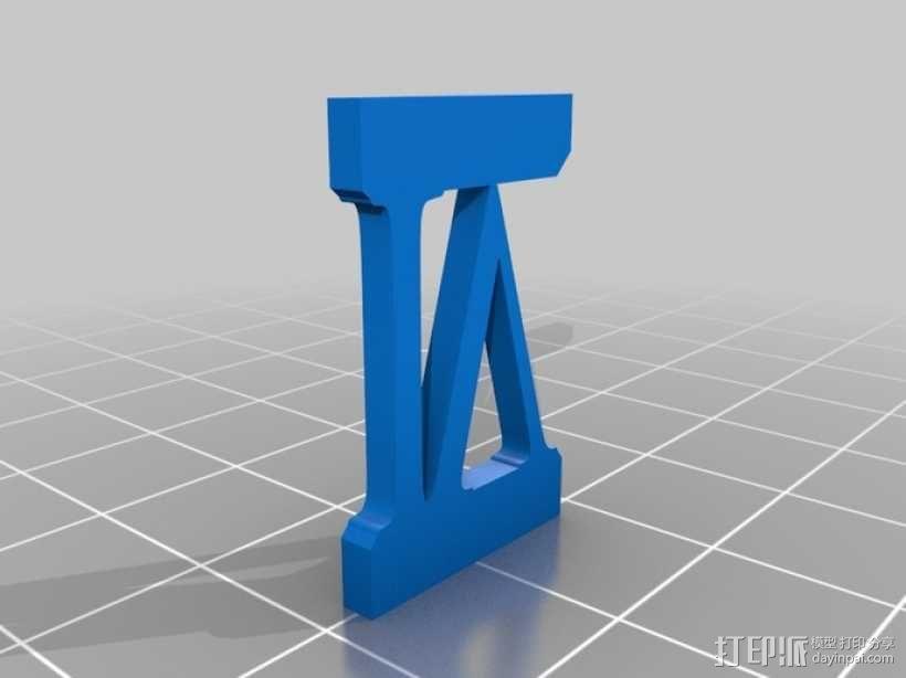 罗马数字骰子 3D模型  图7