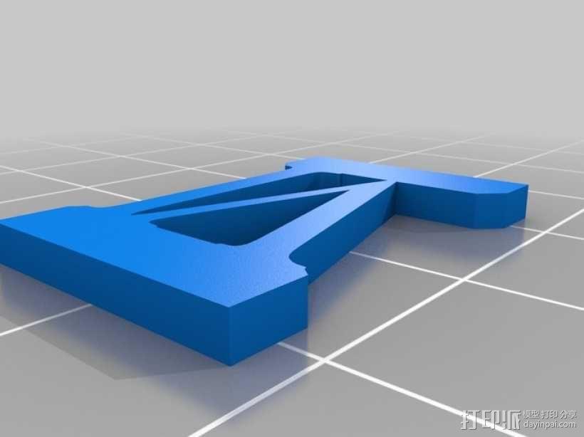 罗马数字骰子 3D模型  图9