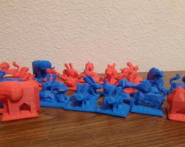 印度斗兽棋套件1 3D模型  图4