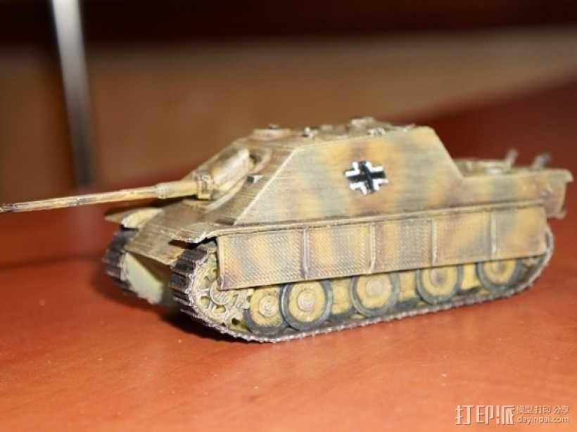 驱逐战车坦克模型 3D模型  图3