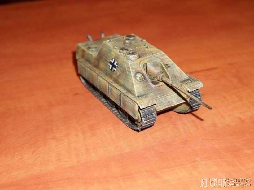 驱逐战车坦克模型 3D模型  图1